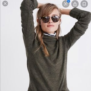 Madewell Donegal Inland Turtleneck Sweater💋BNWT!!